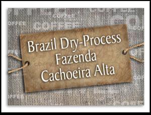 Brazil Dry-Process Fazenda Cachoeira Alta