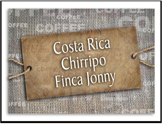 Costa Rica Chirripo Finca Jonny