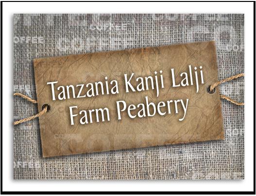 Tanzania Kanji Lalji Farm Peaberry